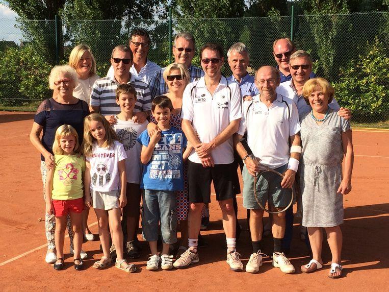Paul De Groot clubkampioen bij TC 2001